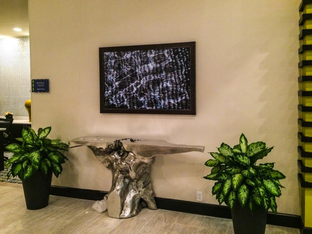 Hilton DoubleTree Lobby Pieces