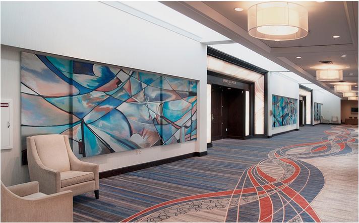Marriott Murals