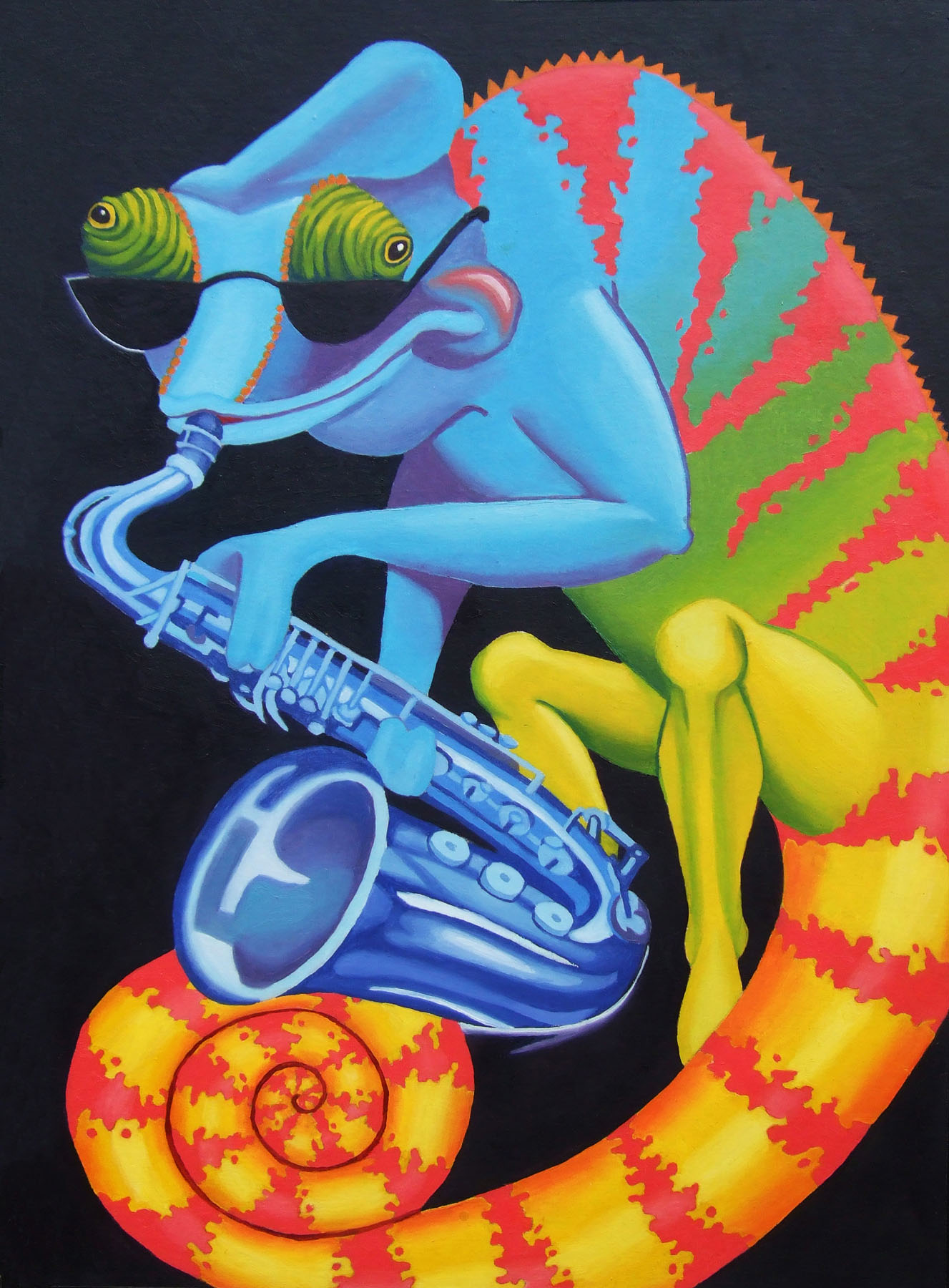"""Blues"" by Britton Edwards"
