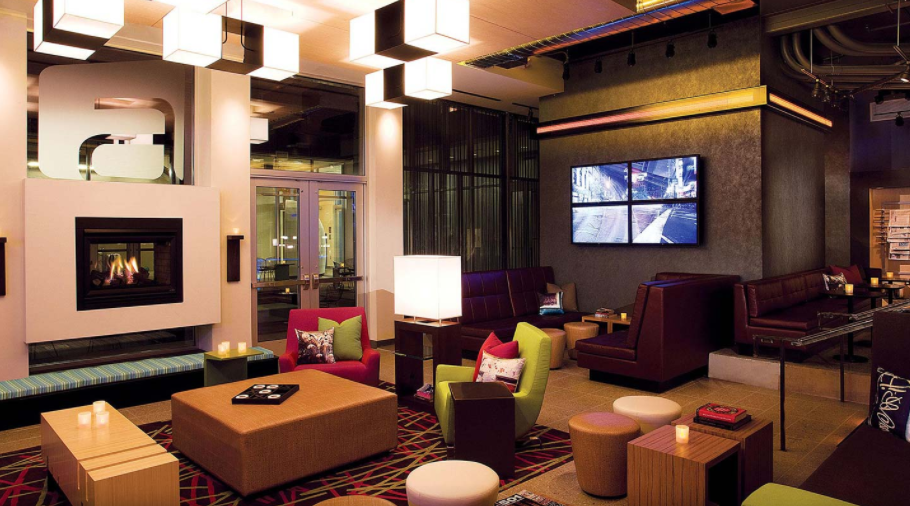 Lounge Photo from Aloft Miami Airport by Marriott