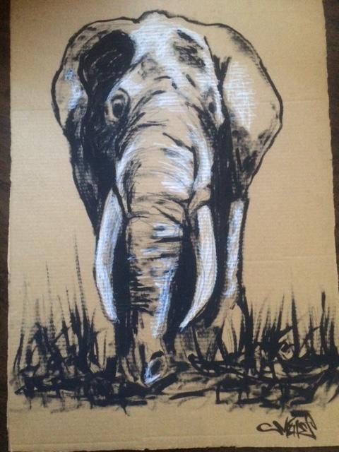 ElephantJorgeZunigaMuteArt